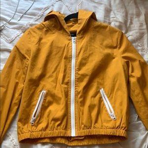 Mustard Yellow thin jacket